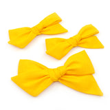 Bumblebee Yellow Evy Bow, Infant Headband