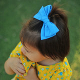 Mustard Plaid Rona Bow
