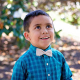 Teal Aztec Bow Tie OR Anna Bow