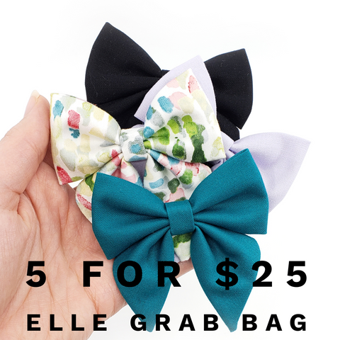 5 for $25 Blind Grab Bag of Elle Bows
