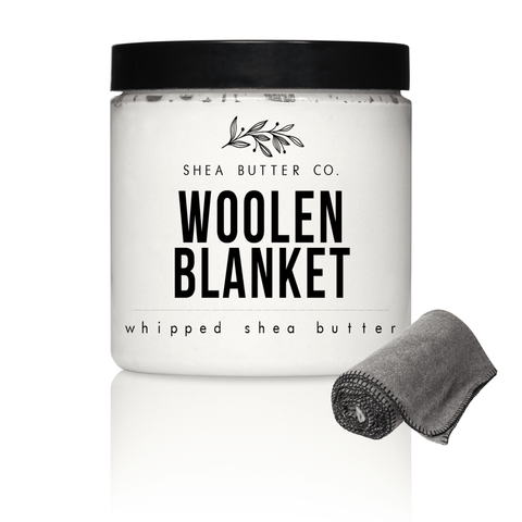 Woolen Blanket Scented Whipped Shea Butter