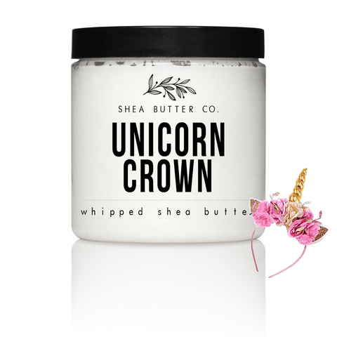 Unicorn Crown Scented Whipped Shea Butter