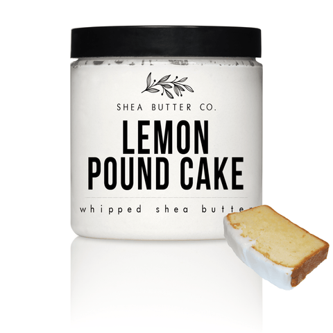 Lemon Pound Cake Scented Whipped Shea Butter