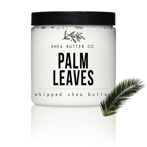 Palm Leaves Scented Whipped Shea Butter
