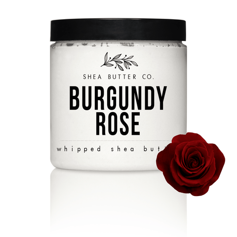Bordeaux Rose Scented Whipped Shea Butter