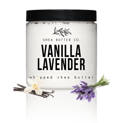 Vanilla Lavender Scented Whipped Shea Butter