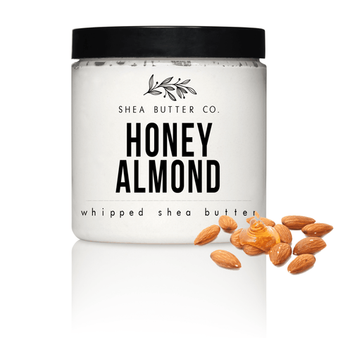 Honey Almond Scented Whipped Shea Butter