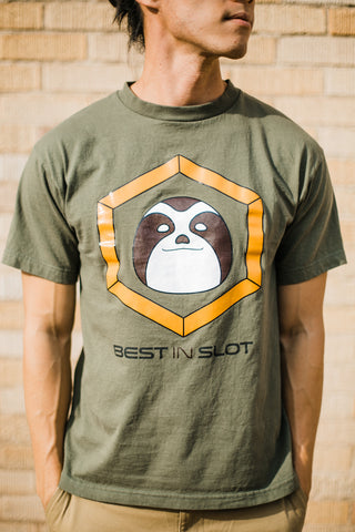 "Best In Slot ""Hex"" Sloth Logo"