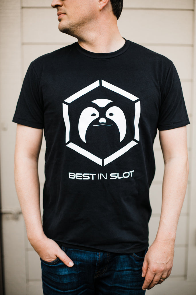 "Best In Slot ""Low Chaos"" Sloth Logo"