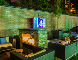 Aria™ Outdoor Fireplace Entertainment System - Coming Soon