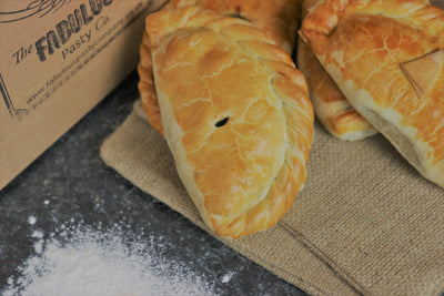 Large Cornish Pasties - Steak - Box Of 10
