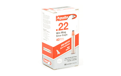 Aguila 22wmr 40 Grain Weight Sp Brss 50-1000