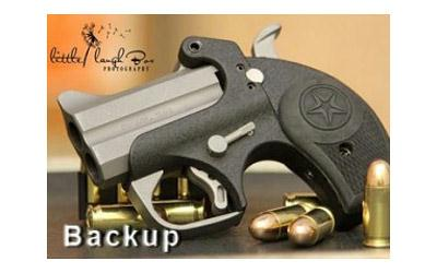 "Bond Backup W-tg 45acp 2.5"" Pc Black"
