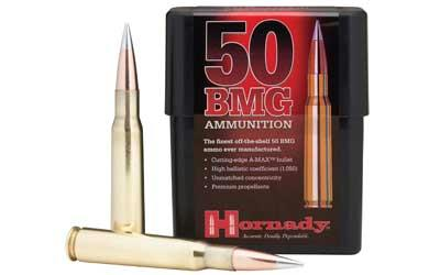 Hrndy 50bmg 750 Grain Weight Amax 10-100
