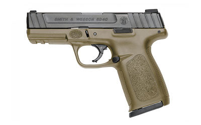 "Smith & Wesson Sd40 40sw 14rd 4"" Fde Fs 2mags"