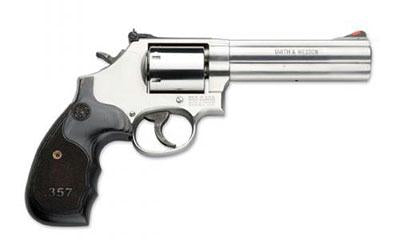 "Smith & Wesson 686 Plus Dlx 5"" 357mg Sts 7rd Wd"
