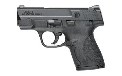 "Smith & Wesson Shield 40sw 3.1"" Black 6&7rd Ts"