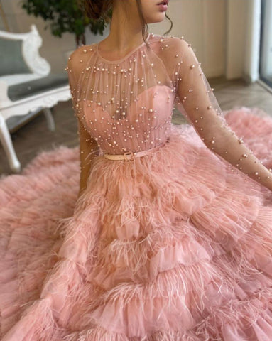 Dreamy Pastel Gown
