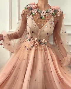 Rosy Dame TMD Gown