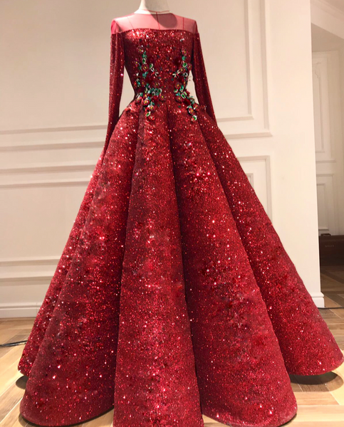 Red Ruby Gown - Teuta Matoshi