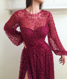 Amaranth Purple TMD Gown