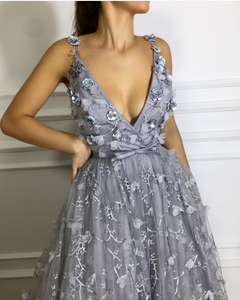 Appaloosa Grey TMD Gown