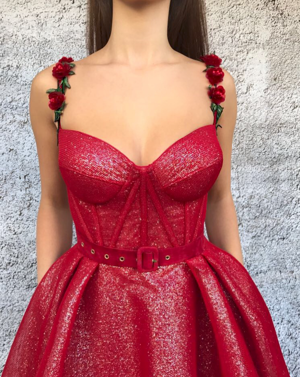 French Raspberry TMD Gown