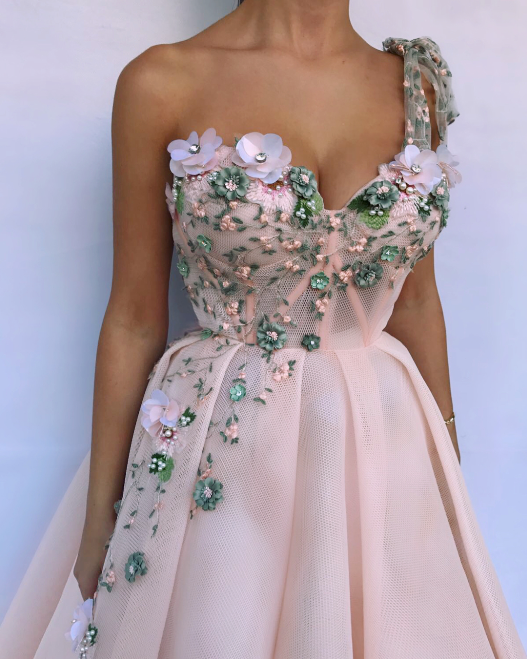 Queen Pink Embel TMD Gown