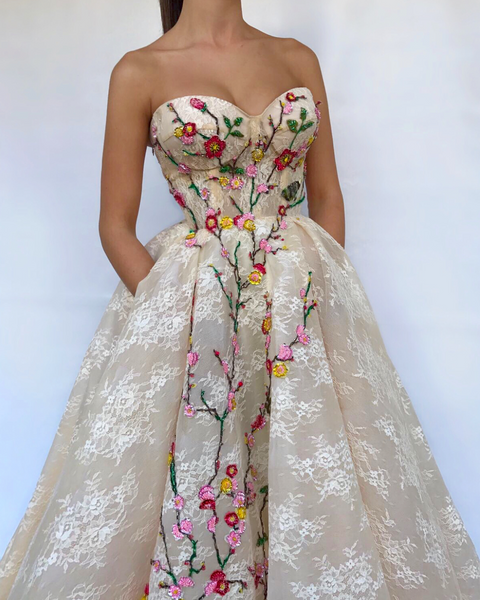White Lava TMD Gown