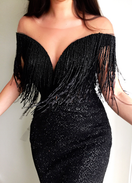 Sparkly Onyx TMD Gown