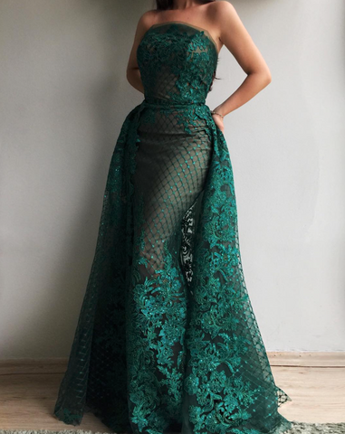 Green Veridian TMD Gown