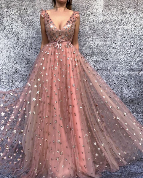 Starry Cinnamon Rose TMD Gown