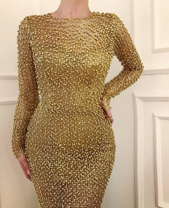 Golden Treasure TMD Gown