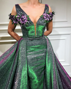 Hollywood Moss TMD Gown