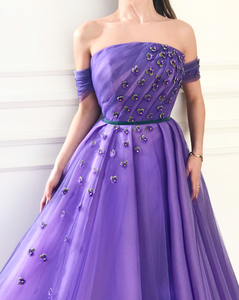 Blossom Amethyst TMD Gown