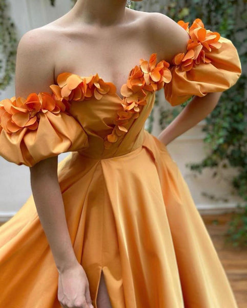 Sunset Bloom Gown