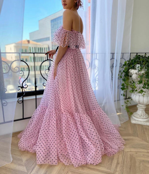 Rosa Polka Dots Gown