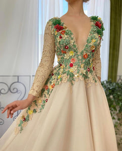 Blooming Ivy Gown