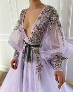 Lilac Ethereal Gown