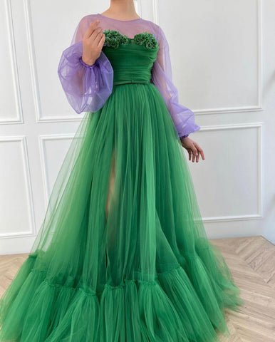 Emerald Charming Gown