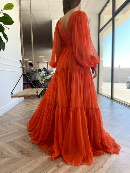 Oreoles Draped Gown
