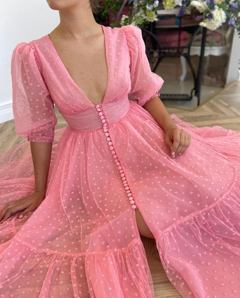 Hearty Pink Dress