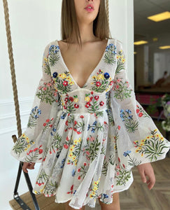 The Wildflowers Mini Dress
