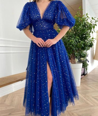 Cobalt Starry Dress