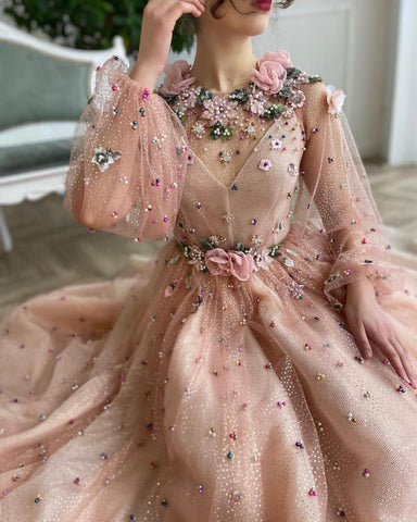 Rose Elysian Gown