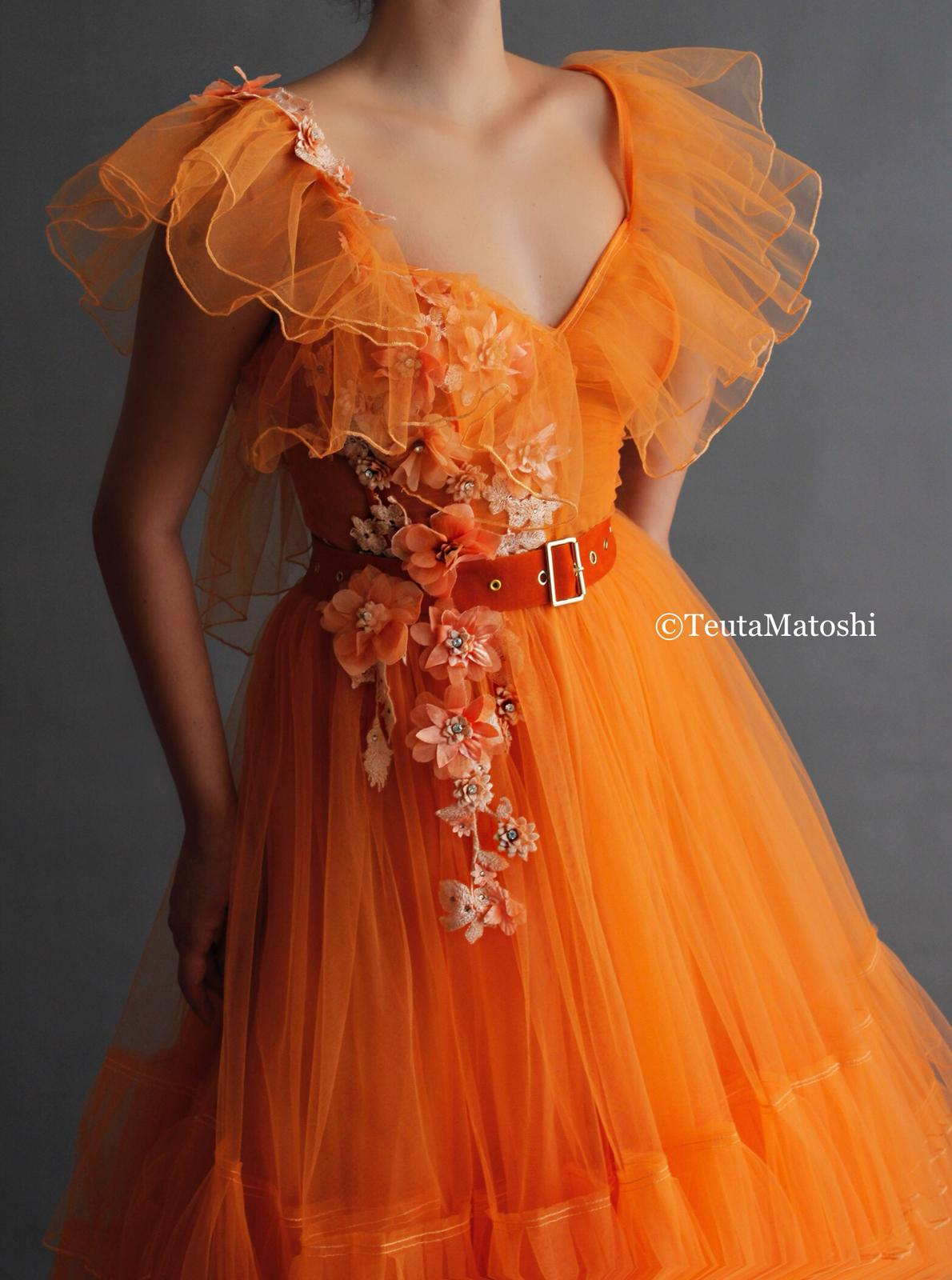Sunshine Blossoms Gown