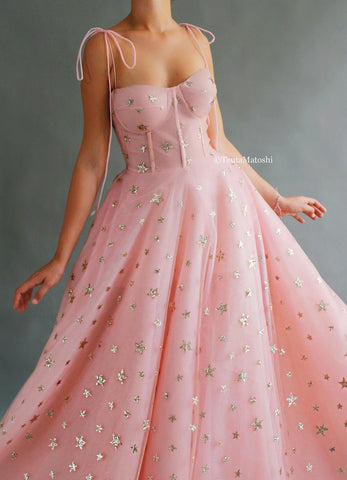 Starry Celeste Gown