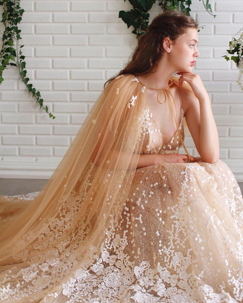 Lira's Lace&Tulle Dream Gown