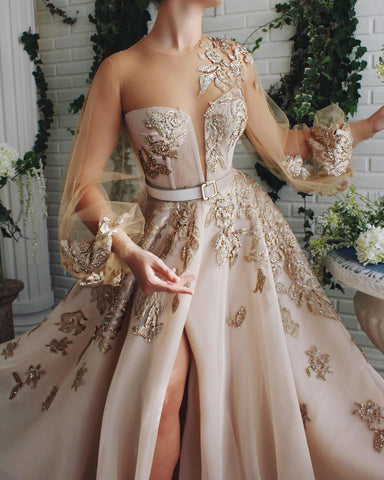 Flary Mesmerizing Lace Gown