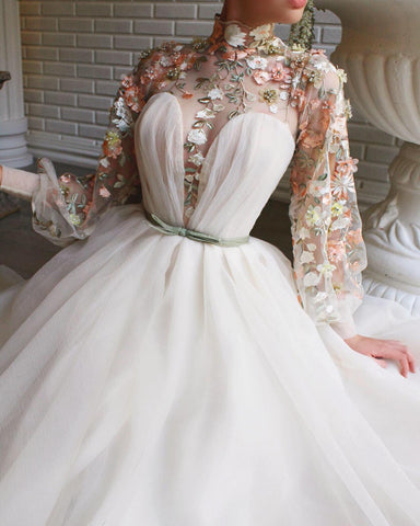 Allure Blossom Essence Teuta Matoshi Gown